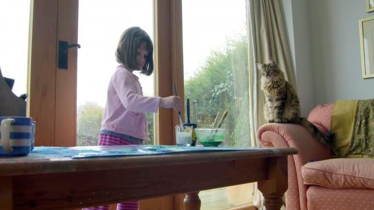 niña autista y su gato 2