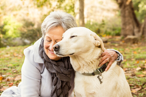 Convivencia entre ancianos y perros: cómo afecta su salud