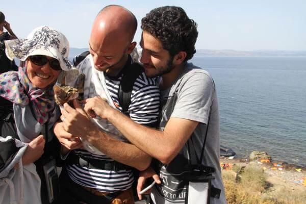 refugiados sirios con sus mascotas 3