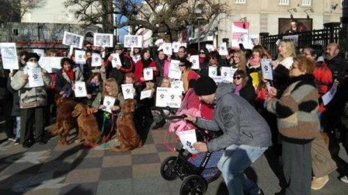 Gran marcha por la defensa de los derechos de los animales