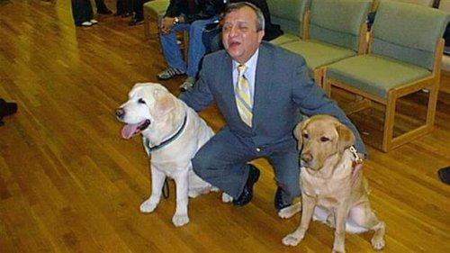 El perro guía que el 11-S regresó para salvar la vida de su dueño