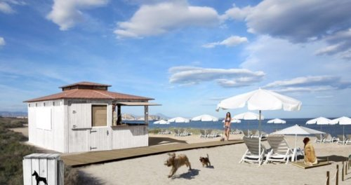 Nace el primer chiringuito para perros en la playa