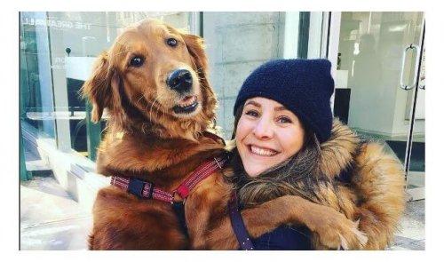 Conoce una perrita cariñosa que les regala abrazos a extraños en la calle
