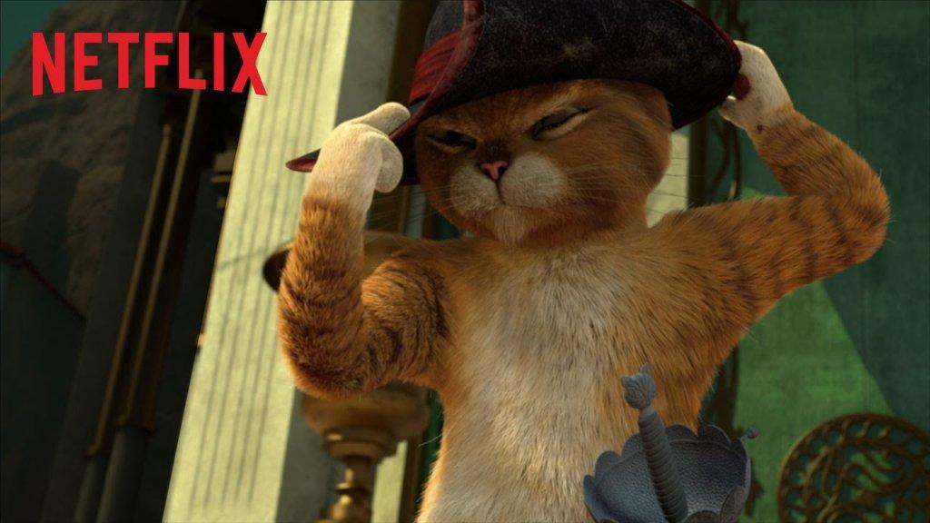 El Gato de Shrek tendrá una serie en Netflix
