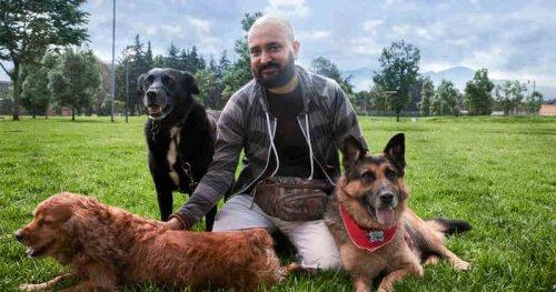 Andrés Carrión, rehabilitador de perros agresivos