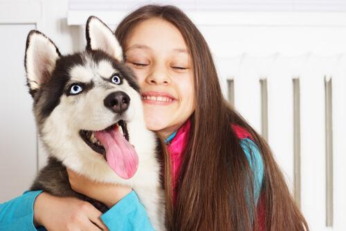 Perros ideales para niños pequeños