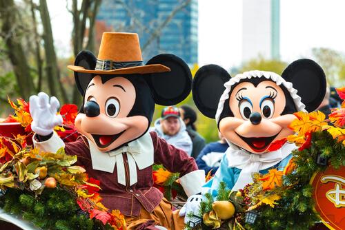 Animales famosos de los dibujos animados: Mickey Mouse