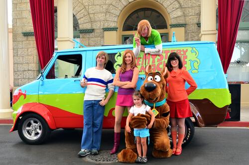 Animales famosos de los dibujos animados: Scooby Doo