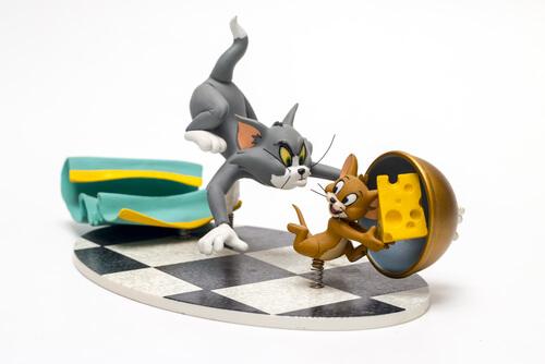 Animales famosos de los dibujos animados: Tom y Jerry
