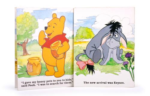 Animales famosos de los dibujos animados: Winnie The Pooh