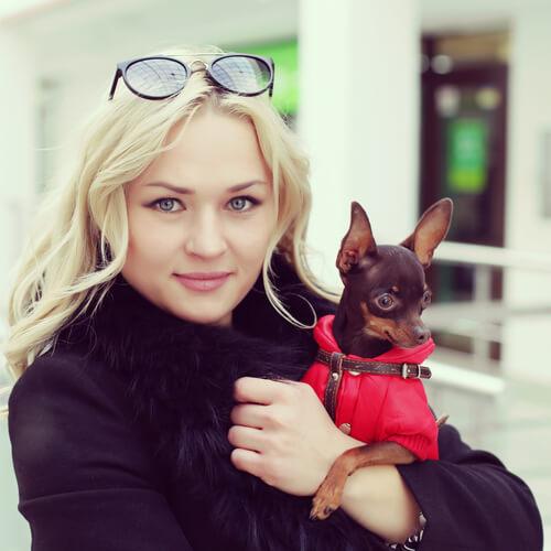 Es seguro llevar al perro en bolsos