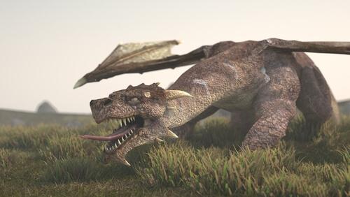 Dragón: especie mitológica