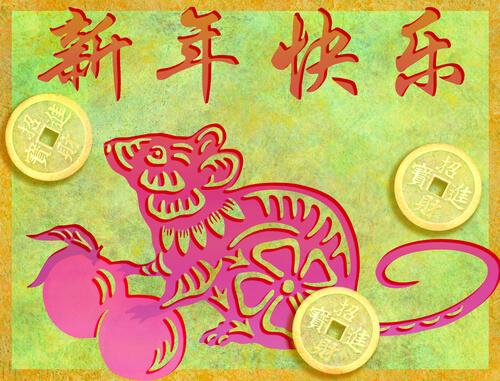 Especies del horóscopo chino: rata
