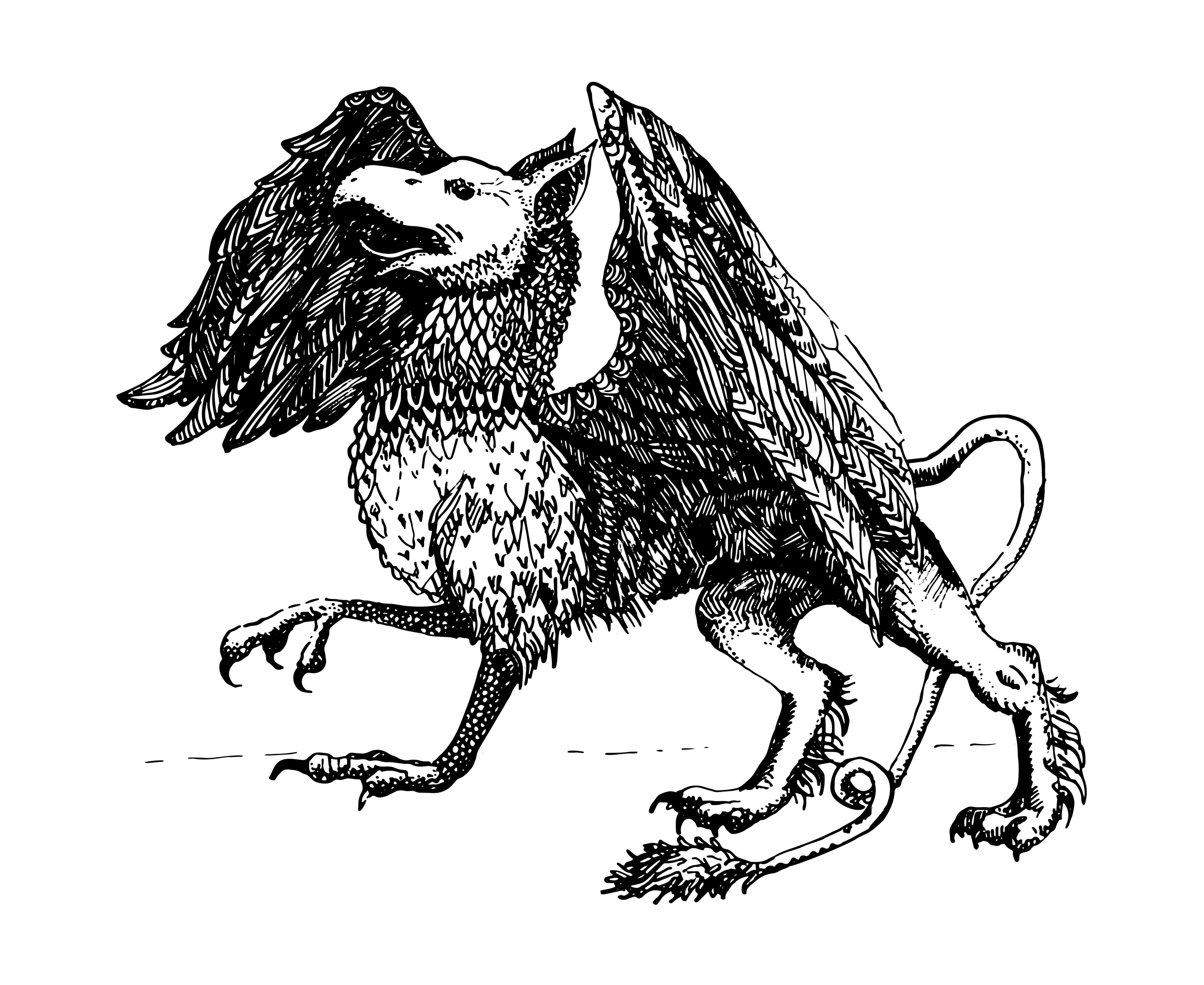 Grifo: mitología