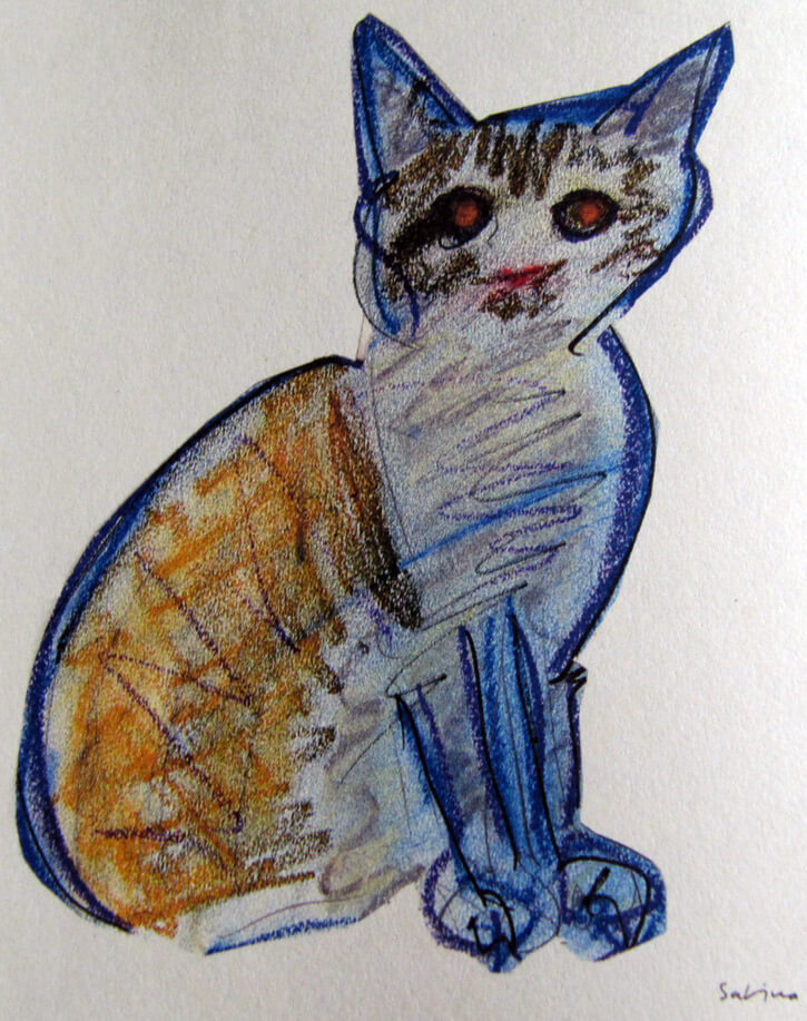 Sabina: gatos en dibujos