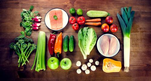 Dieta para perros con verduras