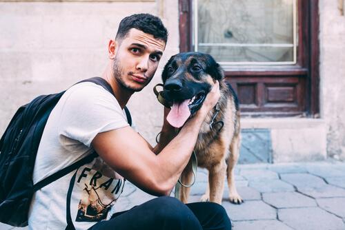 Posar con tu perro