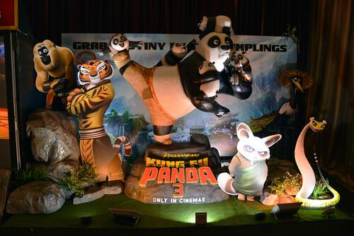 Los animales de Kung Fu Panda y su simbología