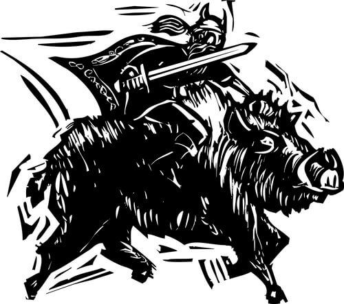 Animales sagrados: jabalí