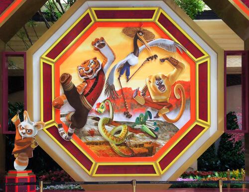 Especies de Kung Fu Panda