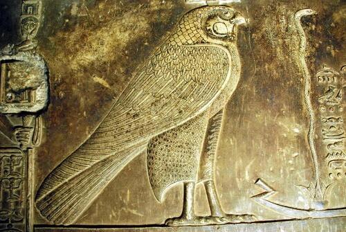 Halcón egipcio: significado