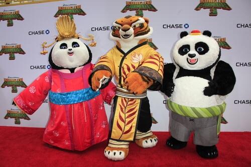 Kung Fu Panda: personajes