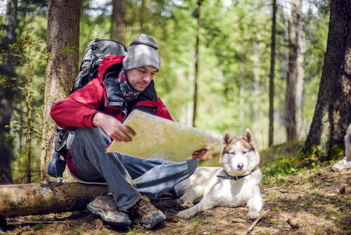 Senderismo con tu mascota: cuestiones a considerar