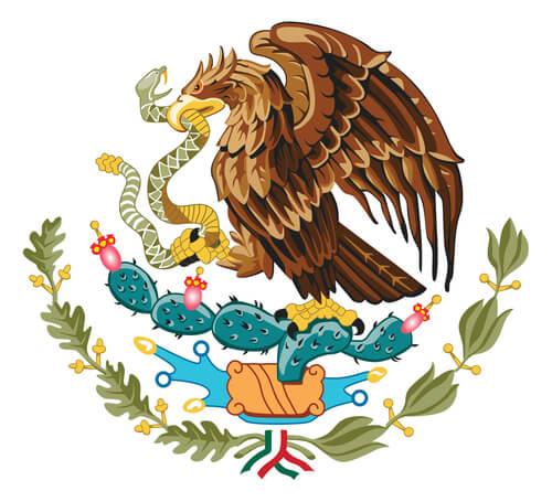 Animales en escudos de países: