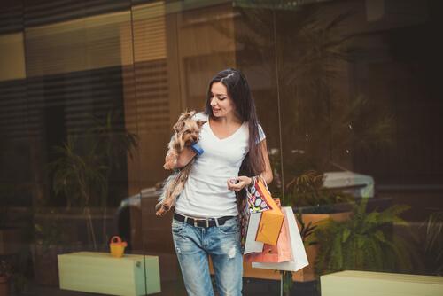 Ir de tiendas con tu mascota