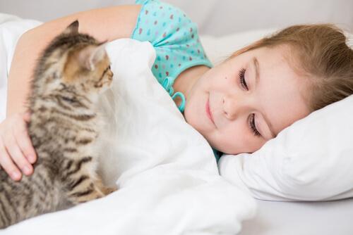 ¿Los gatos son buenas mascotas para los niños?