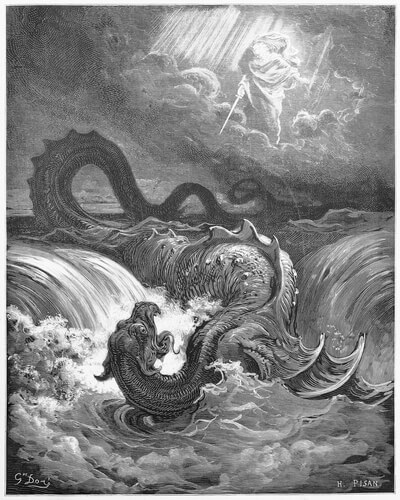 Monstruos marinos: Leviatán