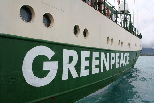 Greenpeace: contaminación de mares