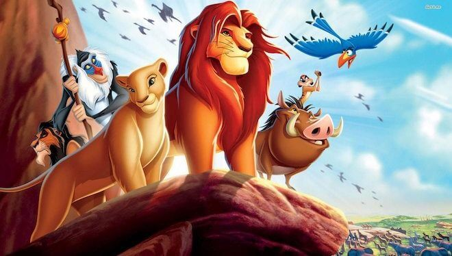 El rey león.