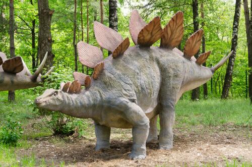 Dinosaurios herbívoros: Stegosaurus