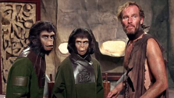 Planeta de los simios antigua