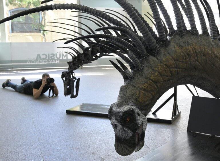 Dinosaurio argentino
