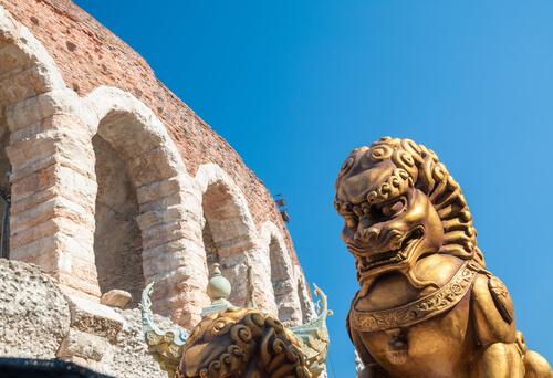 León en Italia