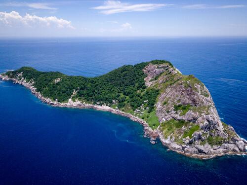 Quemada grande: isla de las serpientes