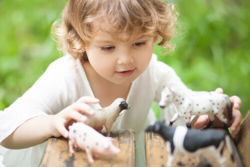 Niños que temen a los animales
