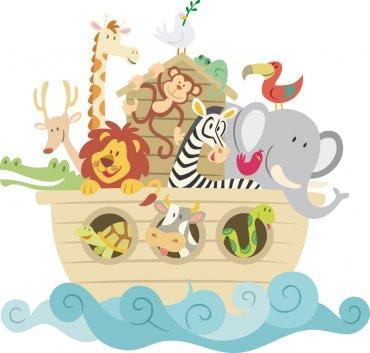Los animales del arca de Noé