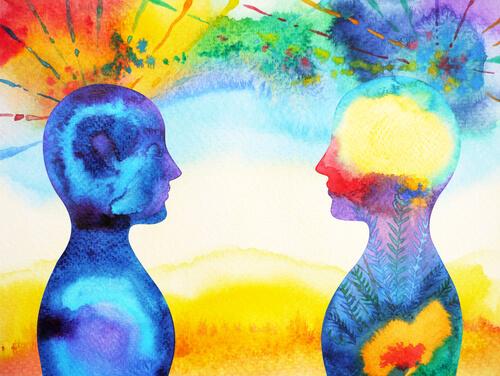 Ilustración del pensamiento abstracto