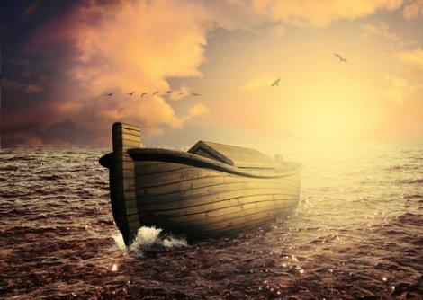 Recreación del arca de Noé