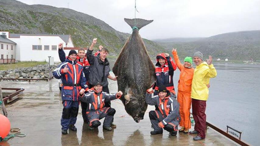 peces planos de gran tamaño: el hipogloso