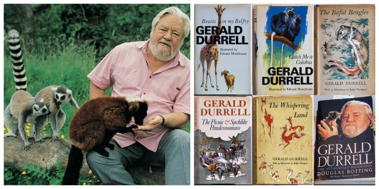 Gerald Durrell: devoción por la naturaleza