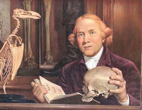 Retrato al óleo de John Hunter.