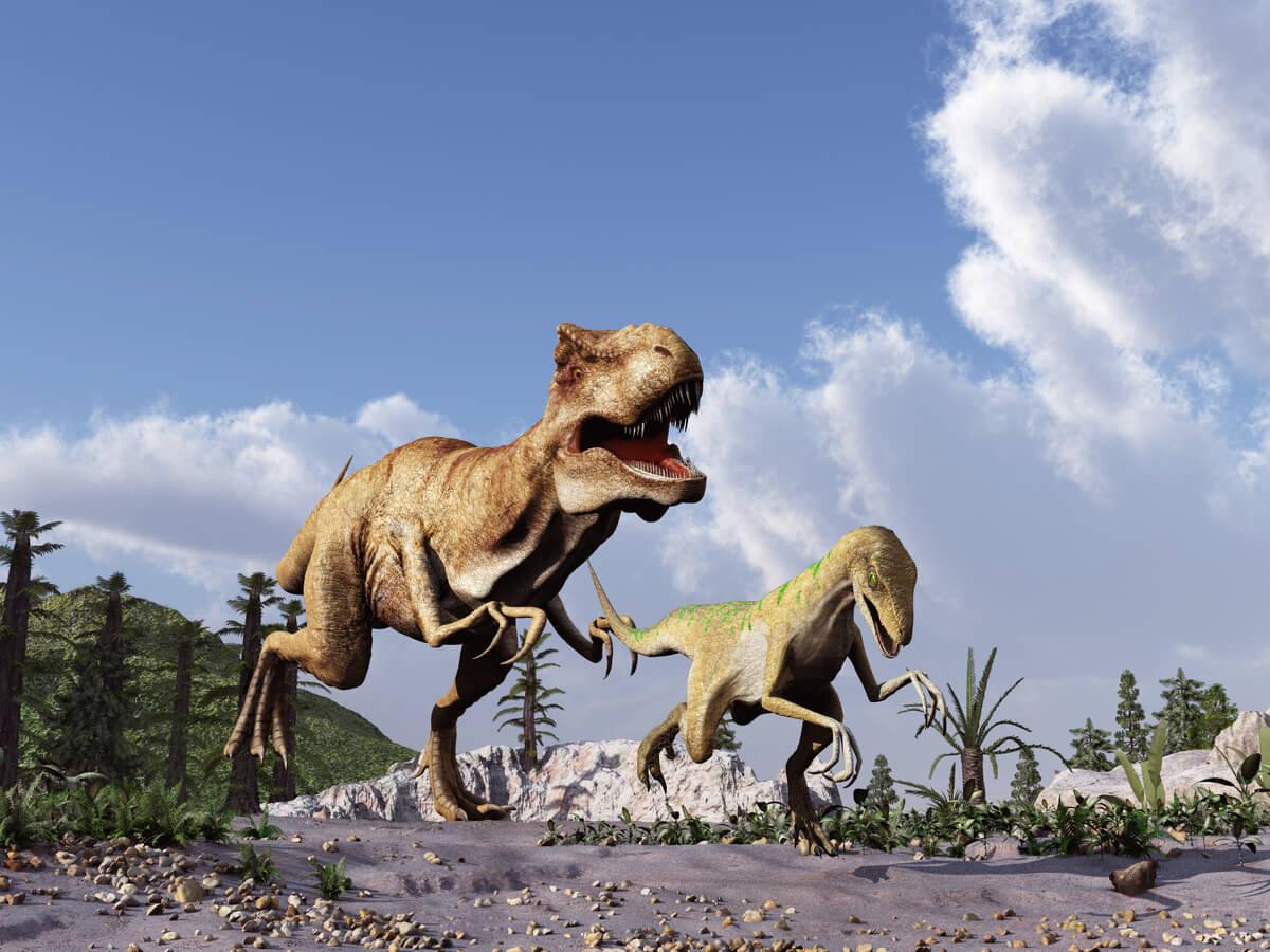 ¿De qué se alimentaban los dinosaurios?