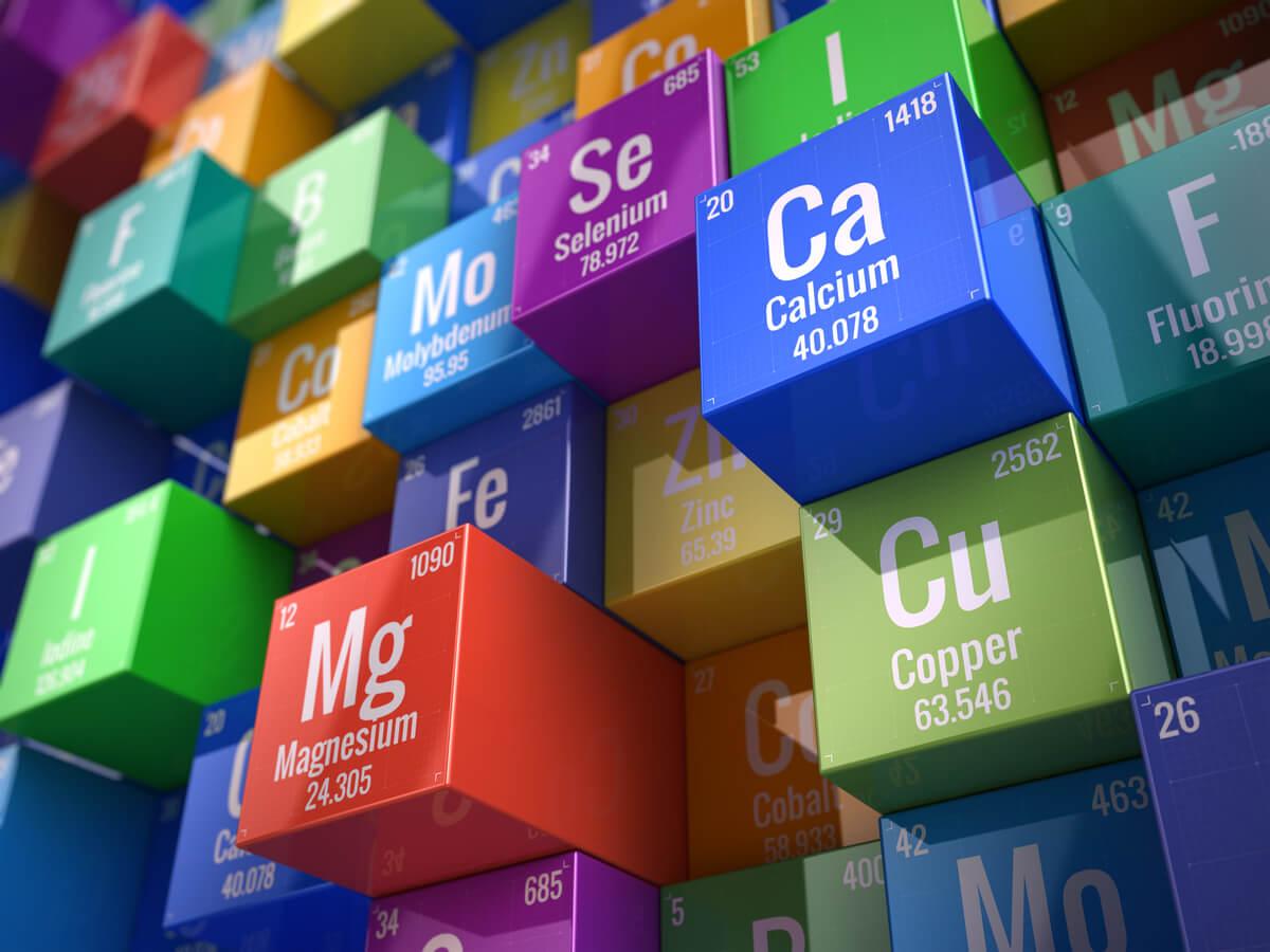 Los minerales esenciales.
