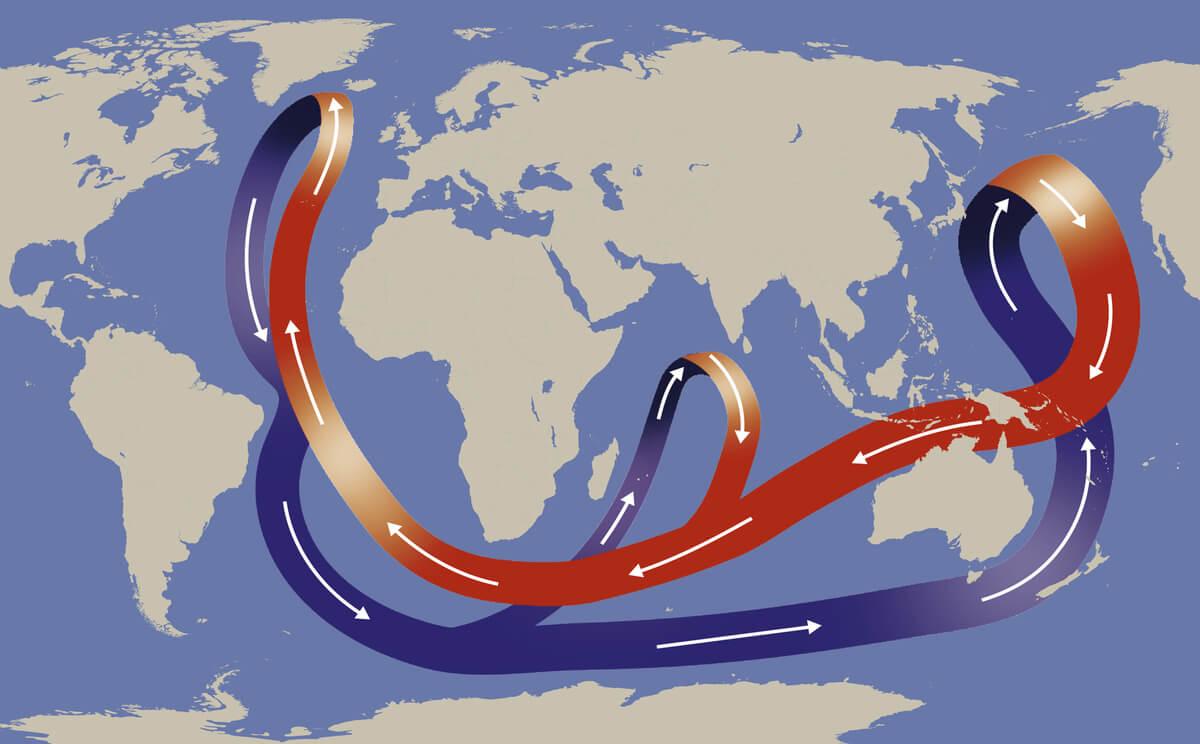 La corriente del golfo y su incidencia.