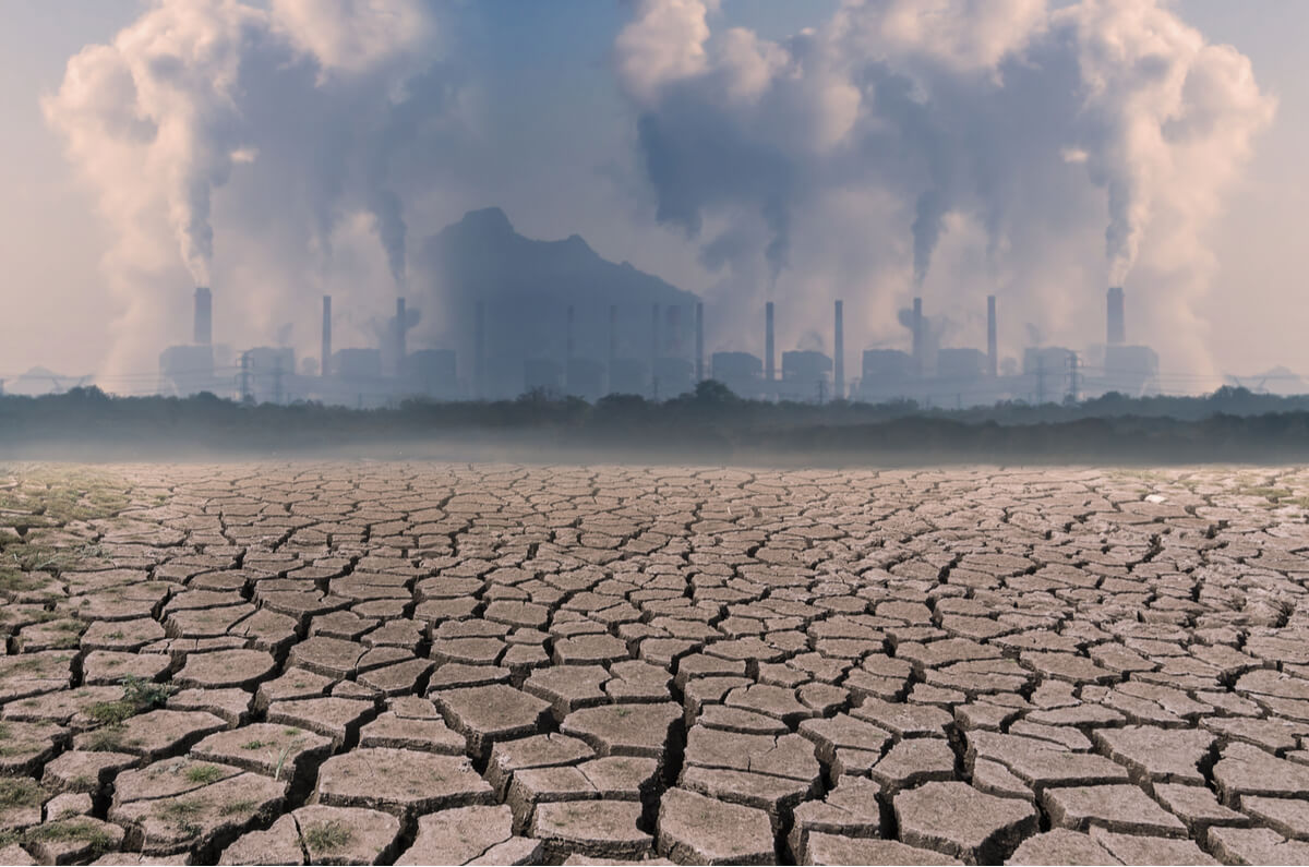Un ejemplo de calentamiento global.