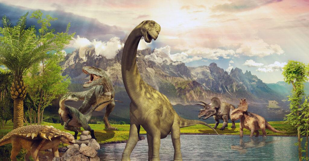 ¿Dónde habitaban los dinosaurios?